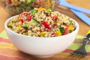 Simple Summer Quinoa Salad