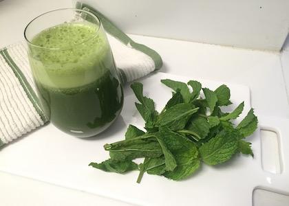 minty green juice